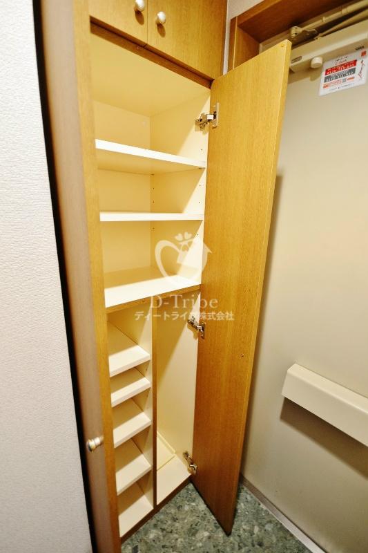 レジディア恵比寿[501号室]の玄関 レジディア恵比寿
