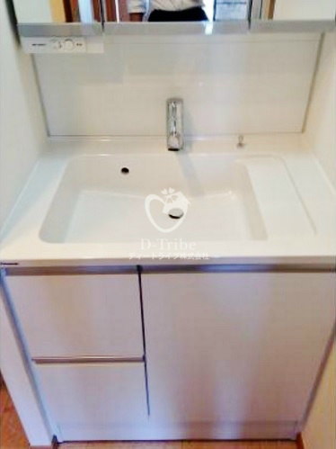 レジディア恵比寿[501号室]の独立洗面台 レジディア恵比寿