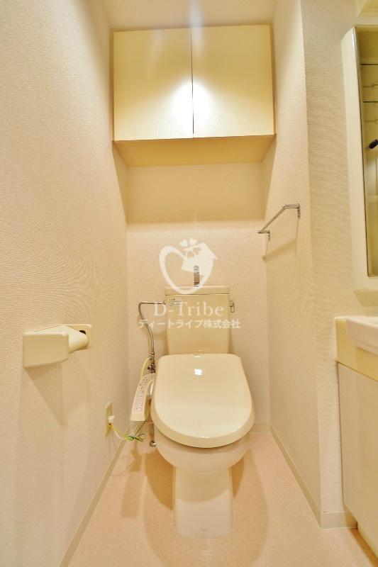 レジディア恵比寿[501号室]のトイレ レジディア恵比寿