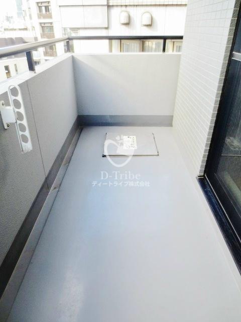 グランドゥール広尾[901号室]のバルコニー グランドゥール広尾