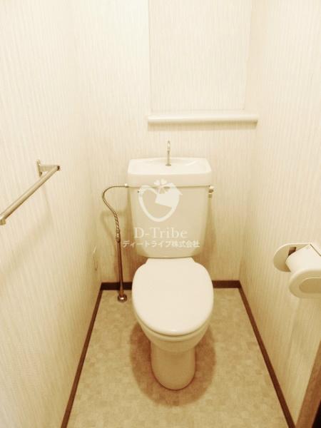グランドゥール広尾[901号室]のトイレ グランドゥール広尾