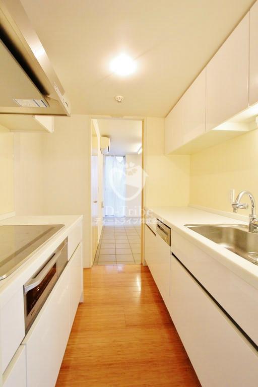月光町アパートメント[201号室]のキッチン 月光町アパートメント