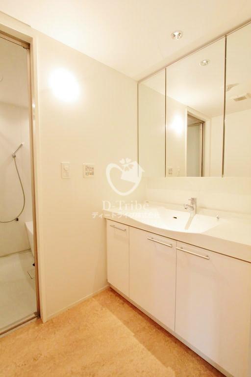 月光町アパートメント[201号室]の独立洗面台 月光町アパートメント