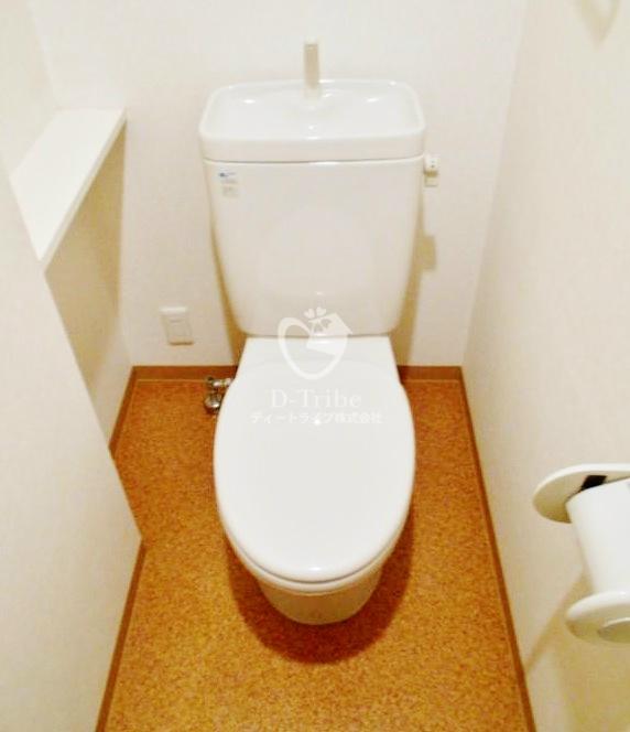フェルテ髙波[401号室]のトイレ フェルテ髙波