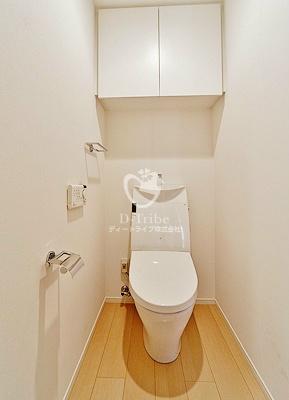 芝浦アイランド グローヴタワー[903号室]のトイレ 芝浦アイランド グローヴタワー