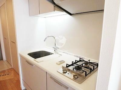 アパートメンツ都立大学[202号室]のキッチン アパートメンツ都立大学