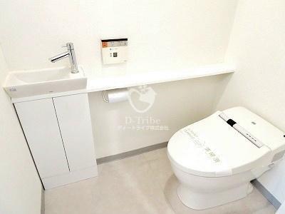 アパートメンツ都立大学[202号室]のトイレ アパートメンツ都立大学