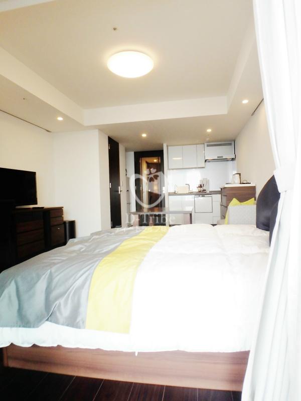ラ・トゥール新宿ガーデン[2920号室]のベッドルーム ラ・トゥール新宿ガーデン