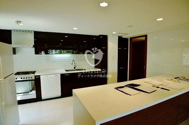 ワコーレ代官山[201号室]のキッチン ワコーレ代官山