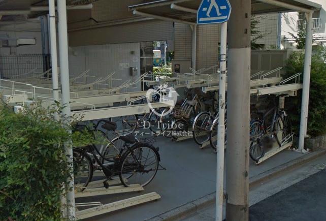 駐輪場 レジディア恵比寿南
