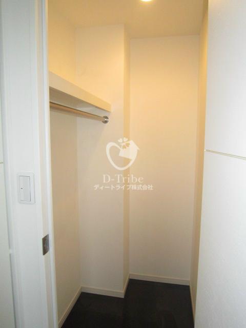 レジディア恵比寿南[405号室]の収納 レジディア恵比寿南