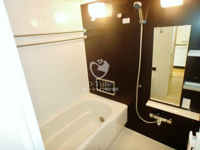 アパートメンツ都立大学[404号室]のバスルーム アパートメンツ都立大学