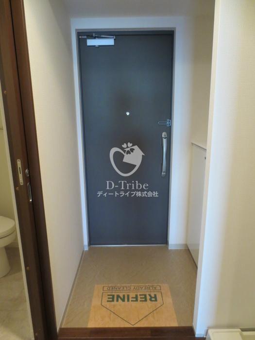 マイプレジール広尾[703号室]の玄関 マイプレジール広尾