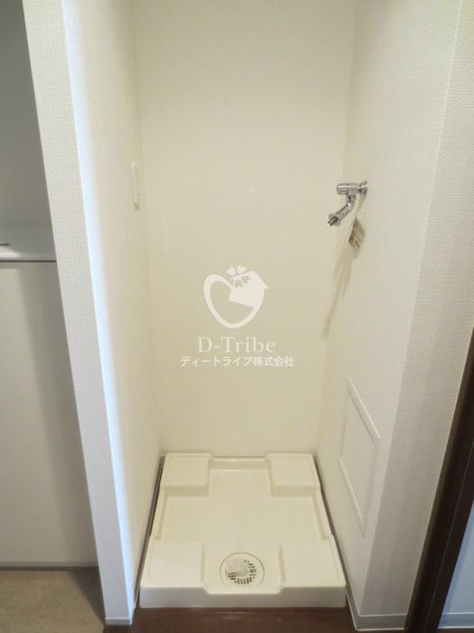 洗濯機置き場 マイプレジール広尾