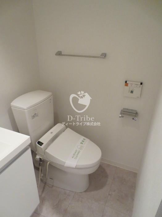 マイプレジール広尾[703号室]のトイレ マイプレジール広尾