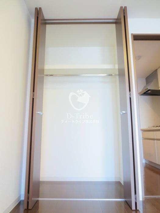 マイプレジール広尾[703号室]の収納 マイプレジール広尾