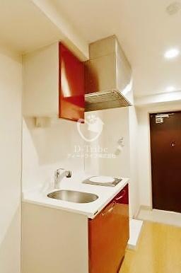 エルスタンザ白金[403号室]のキッチン KDXレジデンス白金3