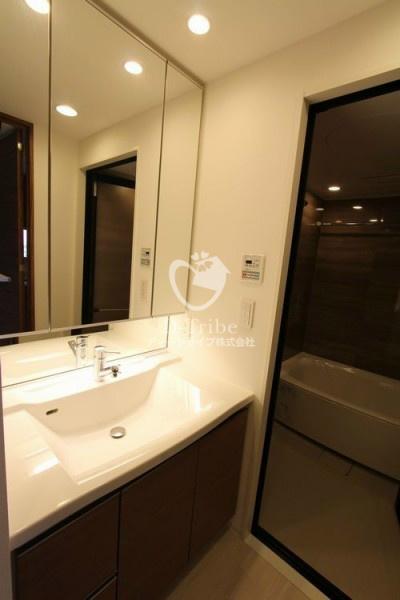 コンフォリア渋谷WEST[1002号室]の独立洗面台 コンフォリア渋谷WEST