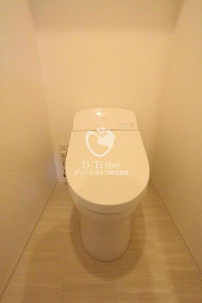 コンフォリア渋谷WEST[1102号室]のトイレ コンフォリア渋谷WEST
