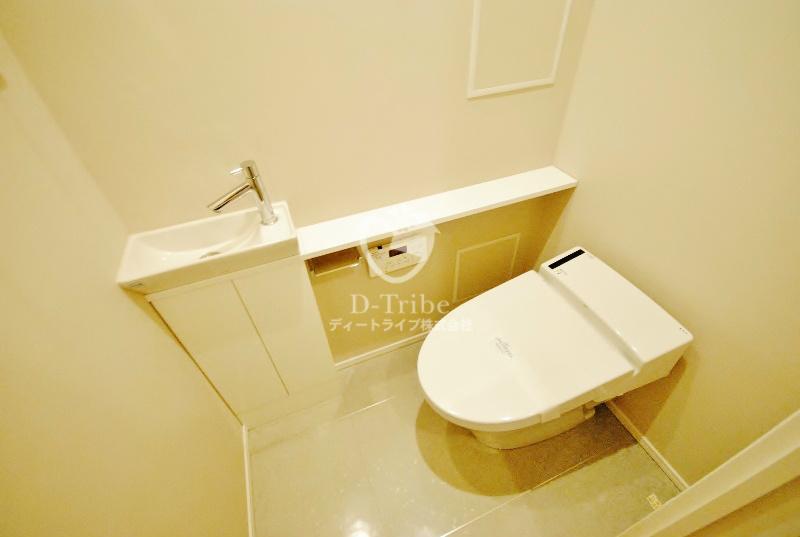 Brillia代官山PRESTIGE(ブリリア代官山プレステージ)[318号室]のトイレ Brillia代官山PRESTIGE