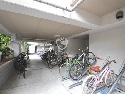 駐輪場 プラチナコート広尾