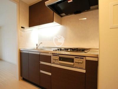プラチナコート広尾[311号室]のキッチン プラチナコート広尾