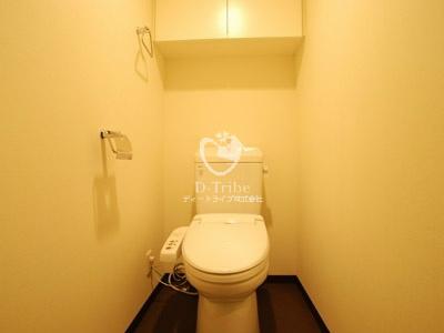 プラチナコート広尾[303号室]のトイレ プラチナコート広尾