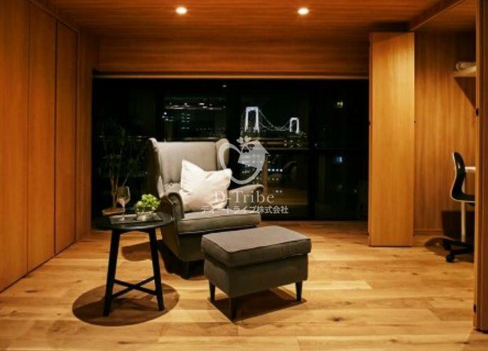 レジディア芝浦[1508号室]の居室 レジディア芝浦