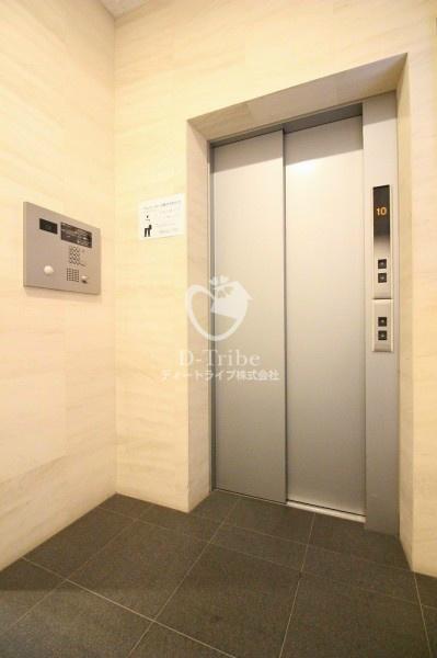 エレベーター パークハウス麻布十番アーバンス