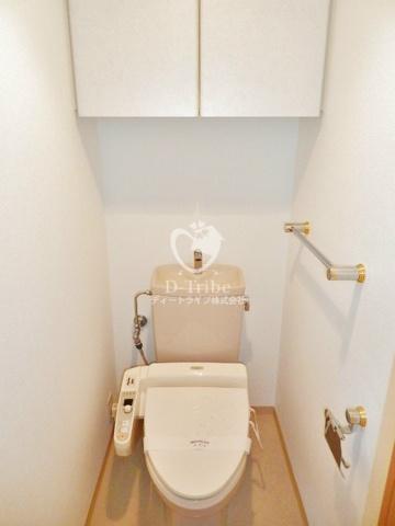 クレッセント品川[610号室]のトイレ クレッセント品川