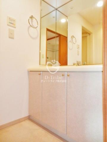 クレッセント品川[610号室]の洗面台 クレッセント品川