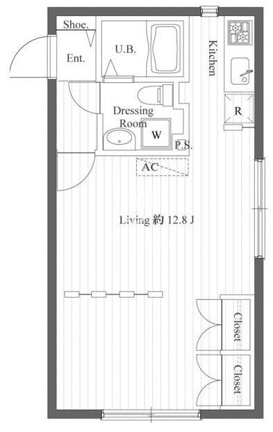 セゾン・デ・ブランシェ青葉台[401号室]の間取り セゾン・デ・ブランシェ青葉台