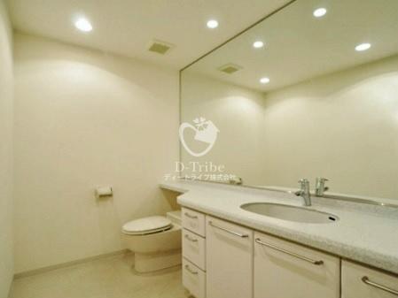 ミルーム乃木坂[108号室]の独立洗面台 ミルーム乃木坂