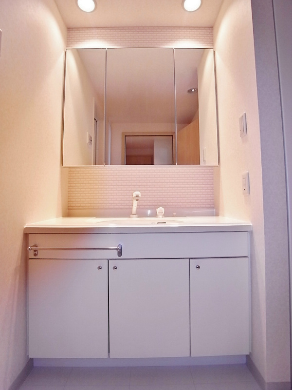 ストーリア品川[1703号室]の洗面台 ストーリア品川