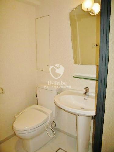 ストーリア品川[604号室]のトイレ ストーリア品川
