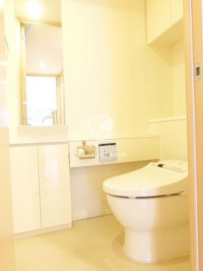 パークハウス麻布十番アーバンス[602号室]のトイレ パークハウス麻布十番アーバンス