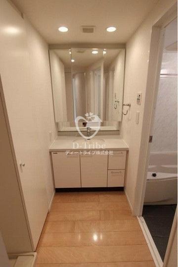 プライムアーバン赤坂[101号室]の独立洗面台 プライムアーバン赤坂