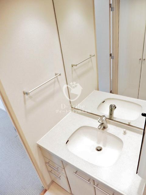 パークプレイス三田[701号室]の洗面台 パークプレイス三田