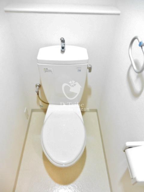 パークプレイス三田[701号室]のトイレ パークプレイス三田