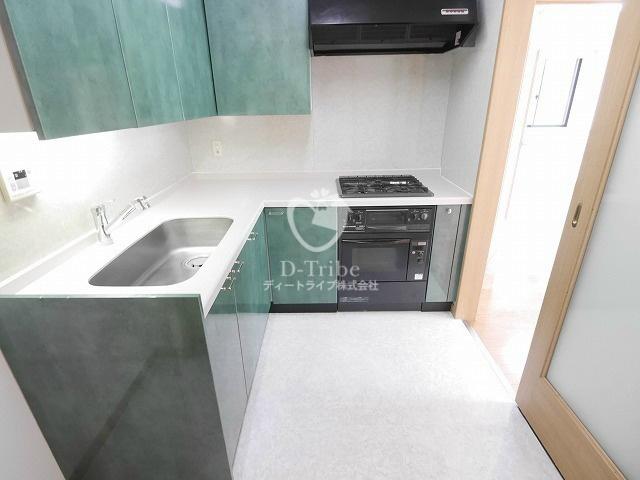 NK青山ホームズ[405号室]のキッチン NK青山ホームズ