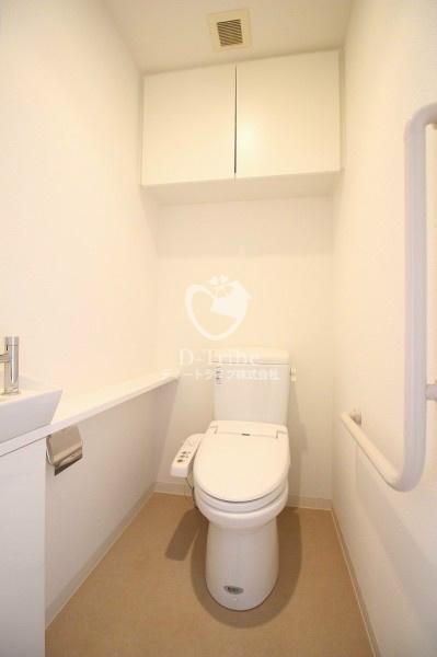 グランスイート南麻布[6階号室]のトイレ別部屋参考写真 グランスイート南麻布