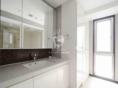 ラスパシオ麻布笄町レジデンス[3階号室]の独立洗面台 ラスパシオ麻布笄町レジデンス