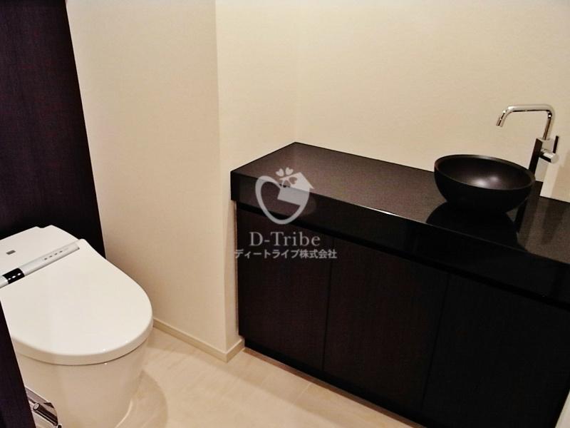 パークコート赤坂ザタワー[19階号室]のトイレ パークコート赤坂ザタワー