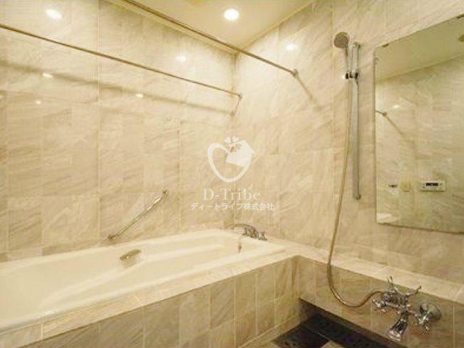 麻布霞町パークマンション[3階号室]の浴室 麻布霞町パークマンション
