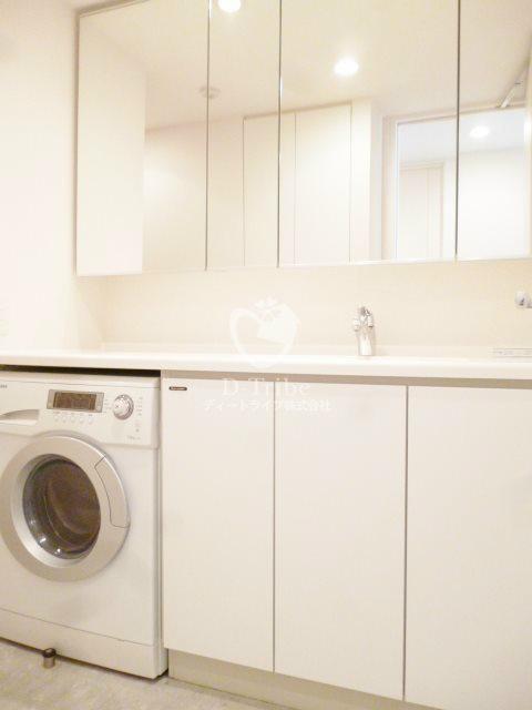 ルフォンプログレ南麻布[405号室]の洗面所 ルフォンプログレ南麻布