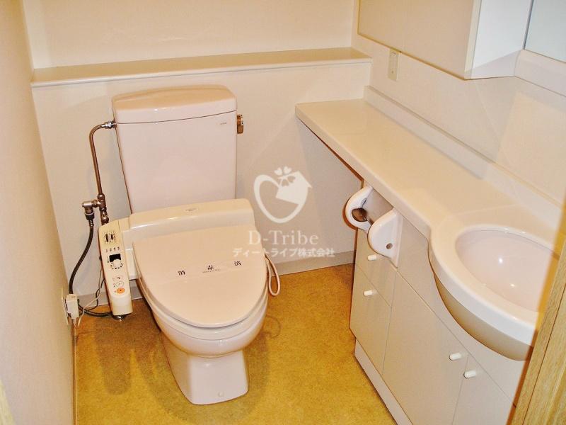 NK青山ホームズ[604号室]のトイレ NK青山ホームズ