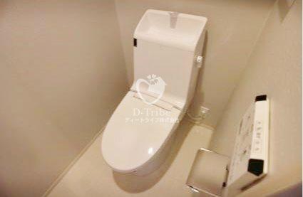 メゾンビスタ渋谷宇田川[104号室]のトイレ メゾンビスタ渋谷宇田川