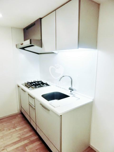 アパートメンツ都立大学[301号室]のキッチン アパートメンツ都立大学