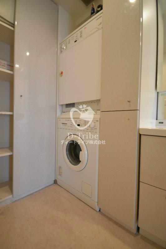 洗濯機置き場 エスティメゾン白金台
