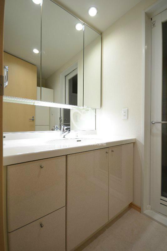 エスティメゾン白金台[302号室]の独立洗面台 エスティメゾン白金台